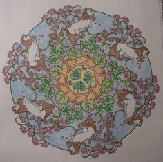 From Nature Mandalas Colored By Me