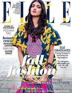 Neelam Gill for Elle India September 2014