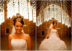Nifty set up, amazing lighting decor. Photography - Mastin Studio
