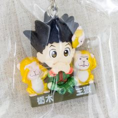 Hunter x Hunter Gon Freecss Figure Mobile Strap Three Monkeys Ver. JAPAN ANIME MANGA