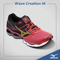 mens mizuno wave creation 14 black
