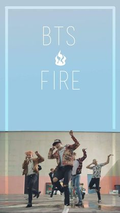 Wallpaper BTS Fire ~