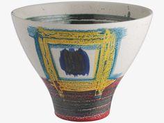 JACKSON Multi-coloured ceramic decorative bowl