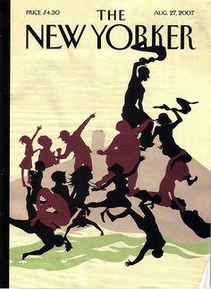 Kara Walker on the New Yorker...