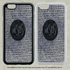 nice 5 SOS Seconds of Summer quote collage for iPhone 6-6S Case iPhone 6-6S Plus iPhone 5 5S SE 4-4S HTC Case Samsung Galaxy S5 S6 S7 and Samsung Galaxy Other