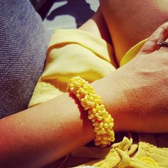 I choose yellow today 💛💛💛 Choose Me, Maui, Yellow, Bracelets, Happy, Holiday, Summer, Instagram, Jewelry