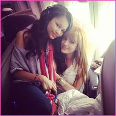 Zendeya Coleman and Bella Thorne together they are like sisters