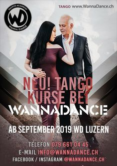 New Courses Starting September 2019 - Oliver & Lin - Tango Argentine Tango, Switzerland, September, Dance, News, Movies, Movie Posters, Instagram, Dancing