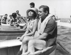 "Clark Gable and Sophia Loren ""It Started in Naples"" 1960"