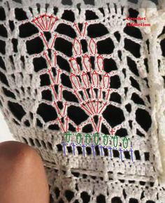 Crochet bathing suit cover up - pattern 3