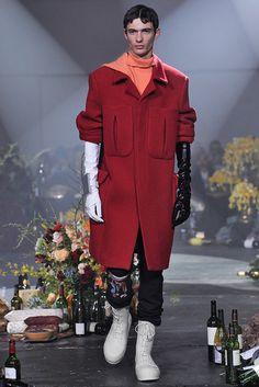 Raf Simons Menswear Fall Winter 2018 New York
