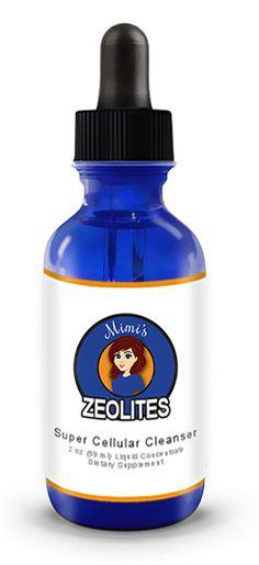 Mimi's Zeolites | Super Cellular Cleanser | Mimi's Zeolites supplement represents a quantum leap forward in cellular detoxification, while re-mineralizing the cells Detox