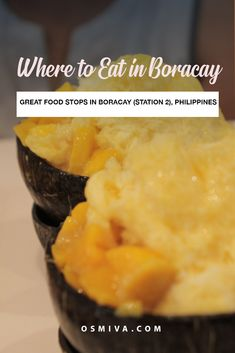 Where to Eat in Boracay Station Delicious Food Stops You'll Love Spiced Rice, Poached Salmon, Tea Cafe, Restaurant Guide, Best Places To Eat, International Recipes, Foodie Travel, Street Food, Indian Food Recipes