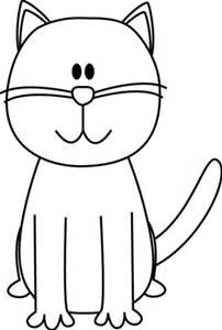cat clip art funny grey cat standing free animal clipart free rh pinterest co uk clipart of cat and the hat clipart of cat