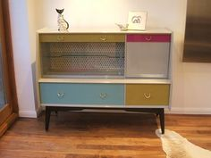 Vintage Upcycled Retro Sideboard Painted High Quality G Plan E Gomme Sideboard | eBay