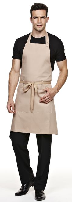 Biscuit Bib Nice To Meat You, Protein Shop, Waiter Uniform, Staff Uniforms, Meat Shop, Grass Stains, Embroidered Clothes, Barista, Refashion