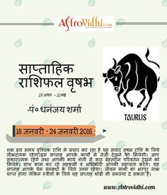 taurus weekly horoscope january 18