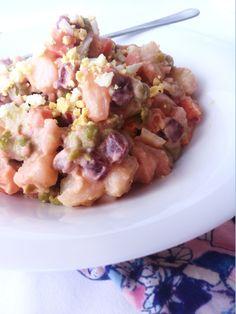 Salade Russe à la Tahitienne