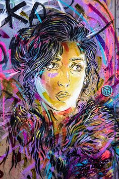 C215 in London, UK