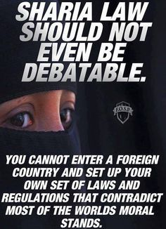 Oh yeah, have you ever heard of Dearborn MI. And probably thousands of other cities in America. Wake up people.