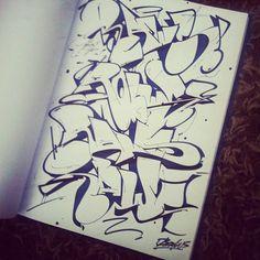 Living Aerosol: Photo Graffiti Lettering Alphabet, Graffiti Writing, Graffiti Font, Graffiti Designs, Graffiti Styles, Graffiti Piece, Love Graffiti, Graffiti Wildstyle, Street Art Photography