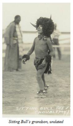 Sitting Bull's grandson, no date.