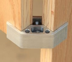The PLY90 Furniture Bracket Connector | designboom - too bad it was expensive...