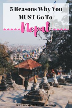 5 Reasons Why You MUST Go To Nepal   If you've been looking for a reason to go to Nepal, here are your 5! Kathmandu, Pokhara, Bardia? All are great options! Read my post about why I loved Nepal, and why you NEED to go!