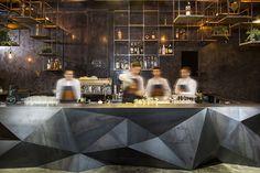 Barrio B lounge bar by Ardi CC, Pristina – Kosovo » Retail Design Blog