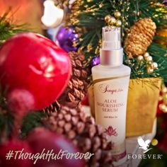 Choosing the right gift is an art. Gift it right with Aloe Nourishing Serum. Merry Christmas, Christmas Gifts, Christmas Holidays, Nutrition Drinks, Forever Living Products, Thoughtful Gifts, Aloe Vera, Serum, Presents