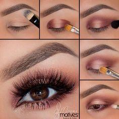 Nice make-up step by step as please Nice make-up step by step D .Nice make-up step by step as please Nice make-up step by step D . - Eye make-up - # for Fall Eye Makeup, Skin Makeup, Makeup Eyeshadow, Brown Eyeshadow, Makeup Case, Eyeshadows, Makeup Brushes, Fall Eyeshadow, Eye Makeup Steps