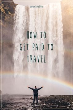 You're ready to quit you job, hop on a plane and start traveling the world. We'll were walking you through 17 ways you can get paid to travel by generating passive income to fund your adventures. Plus there is an awesome giveaway to help fund those travels. Give it a read!