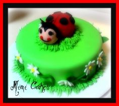 Lana Lady Bug By mimi4bye on CakeCentral.com