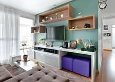 8 Truques para decorar ambientes pequenos - Site de Beleza e Moda