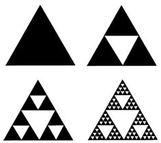 The Sierpinski triangle What Are Fractals, Maori Patterns, Geometric Patterns, Tiny Fish, Nz Art, Maori Art, Triangle Pattern, Art Classroom, Geometry