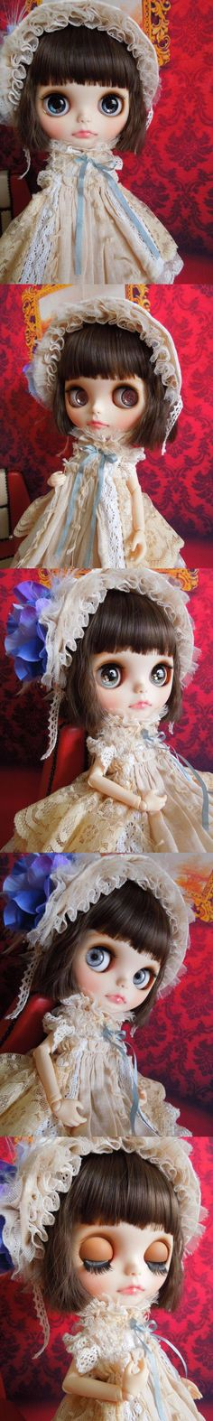 Custom Blythe Dolls: Aguri Custom Blythe Antique - A Rinkya Blog