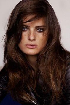 Dark Chocolate Hair Colors - Best Hair Color for Dark Skin Women Check more at http://frenzyhairstudio.com/dark-chocolate-hair-colors/