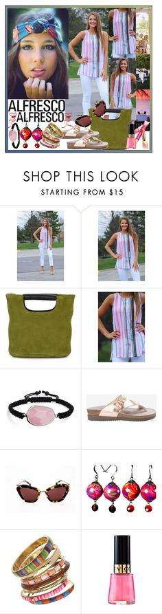 """""""Easy Breezy"""" by westcoastcharmed ❤ liked on Polyvore featuring Reception, Simon Miller, Bling Jewelry, Miu Miu, ULTA and alfrescodining"""