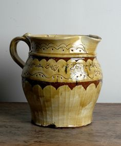 slipware ale jug. ..... english