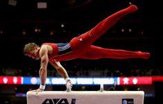 Male Gymnast Gymnastics Silhouette Die Cut Files ...