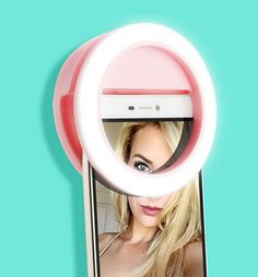 Pink Selfie LED Ring Light w/ Built-in Lithium Battery for Smartphone #iPhone 6 plus/ 6s/ 6/ 5s/ 5/ 4s/ 4 / Samsung Galaxy S6/ S5/ S4/ S3 etc. ($15.59) BY FREE SHIPPING! http://www.linkdelight.com/P0031076-Pink-Selfie-LED-Ring-Light-w-Built-in-Lithium-Battery-for-Smartphone-iPhone-6-plus-6s-6-5s-5-4s-4-Samsung-Galaxy-S6-S5-S4-S3-etc.html