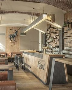 RESTAURANT | Kozlovna Apropos Restaurant. #Interior #Design [ok]