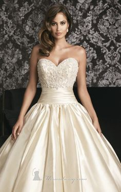 9001-by-allure-bridals.jpg (630×1000) Shop it here: http://www.missesdressy.com/dresses/designers/allure/allure-bridals/9001 #wedding #beaded #gown #stylish #gorgeouslook #strapless #sweetheart #MissesDressy #AllureBridals