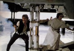 Star wars - Han Solo and Leia