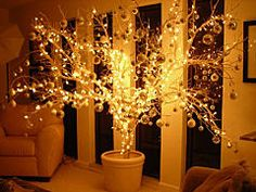 Inspiration: Alternative Uses For Christmas Lights