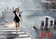 Gao Yuanyuan for Elle. #fashion #style