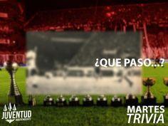 #MartesTrivia Que paso en la primera final de la #CopaLibertadores de 1974? Quien hizo el gol del rojo?