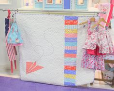 Sarah Jane Children at Play Quilt by amy smart