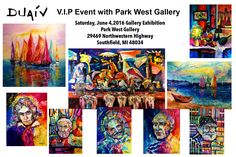 DUAIV V.I.P. Event with Park West Gallery. Exhibition in June 2016