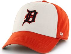 Detroit Tigers Freshman Franchise Fitted Baseball Cap by 47 BRAND x MLB